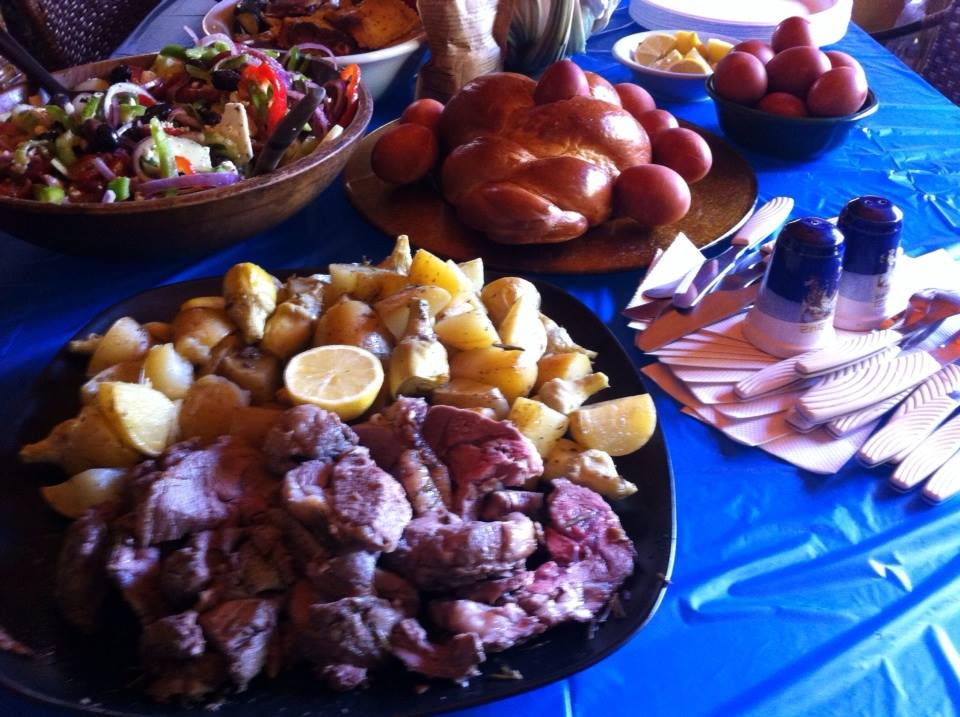 Roast lamb, and other delicacies!