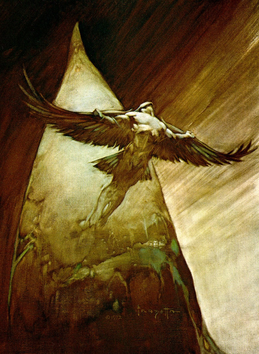 """Icarus"" by Frank Frazetta"