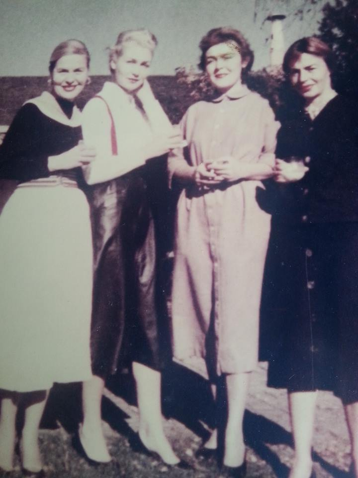 From left to right: Mary, Iphie, Catherine, Caroline.